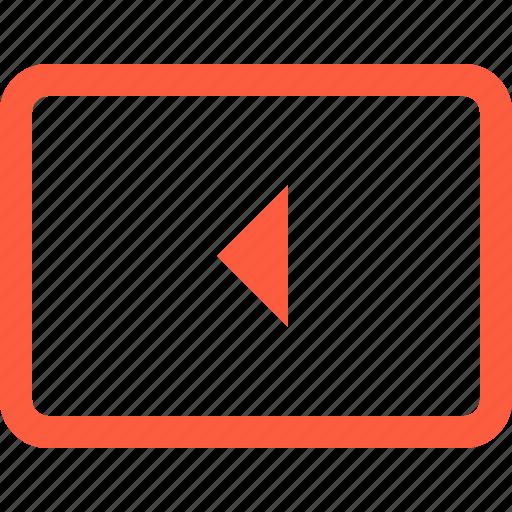 arrow, button, key, keyboard, left, typing icon