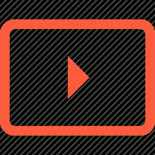 arrow, button, key, keyboard, play, right icon