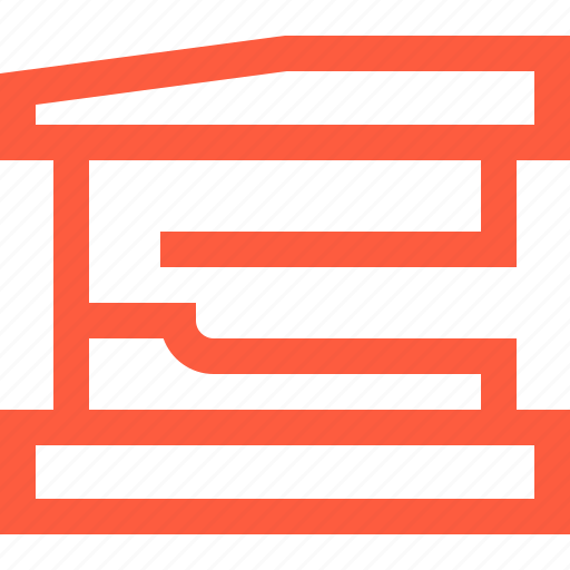 fastering, instrument, office, paper, stapler, stationery, tool icon