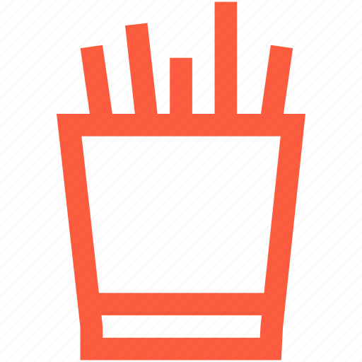 box, cup, office, pencils, stack, stationery, tools icon