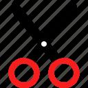 crop, cut, cutting, scissors icon