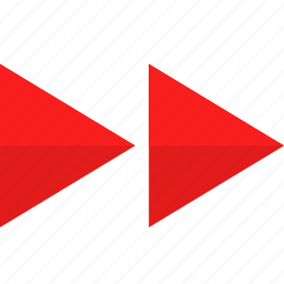 arrows, forward, interface icon
