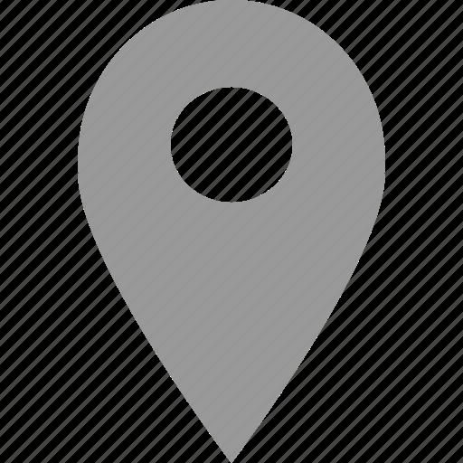 find, locate, point, pointer icon