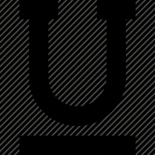 editor, format, text, underline icon