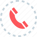 call, dial, phone icon