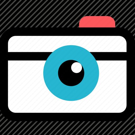 camera, digital, picture, record icon