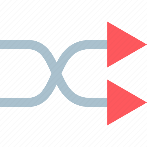 forwrd, go, loop icon