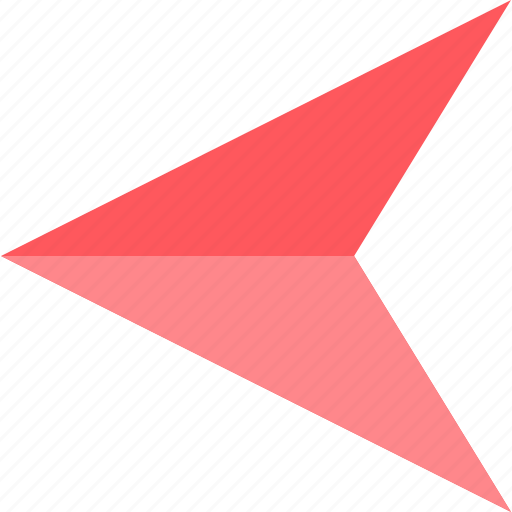 arrow, left, point icon