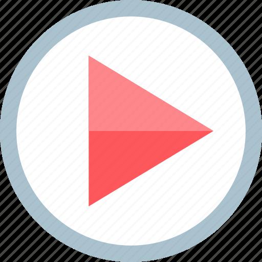 media, play, youtube icon