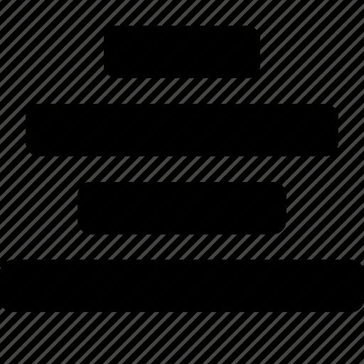 align, center icon