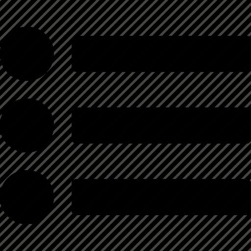 list, ul icon