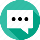 bubble, chat, communication, messaging, sms, talk, text icon