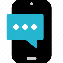 chatting, message, phone, sms, talking, text, texting icon