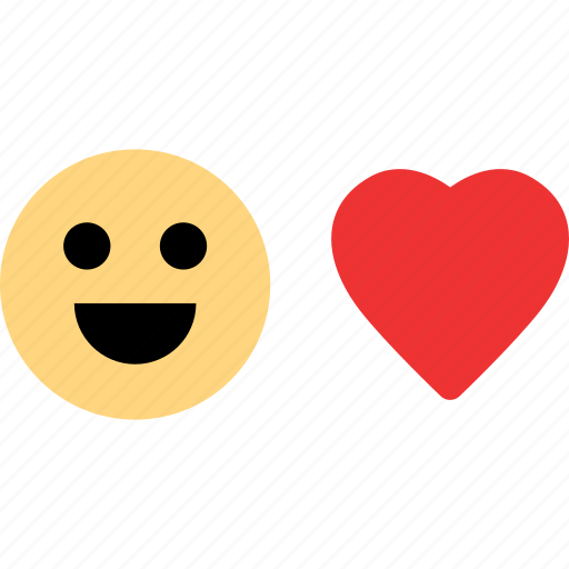 emotion, happy, heart, message, sms, text icon