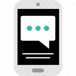 chatting, message, phone, sms, talk, text, texting icon