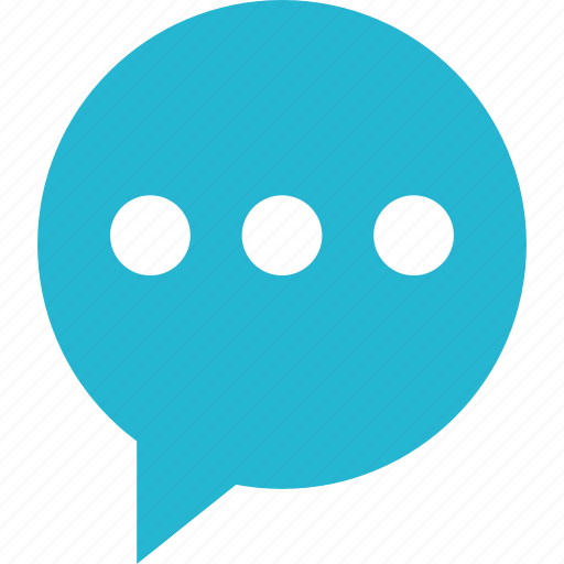 bubble, message, sms, text, texting icon