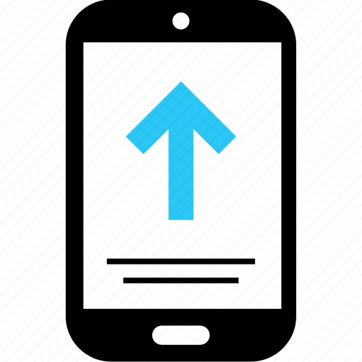 arrow, message, send, sms, text icon