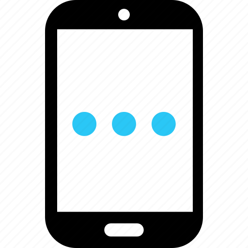loading, message, phone, sms, text icon