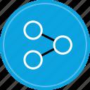 data, seo, share, web icon