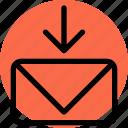 contact, keyboard, mail, navigation, text, envelope, inbox