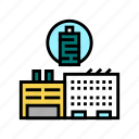 factory, production, textile, equipment, silk, thread icon