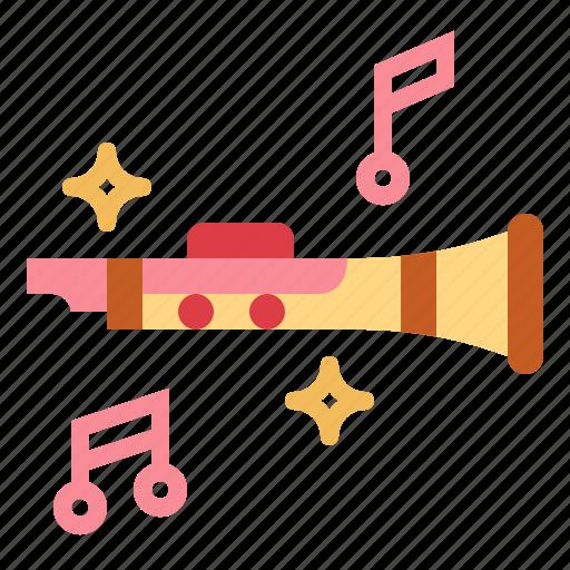 clarinet, instrument, music, orchestra, wind icon