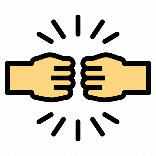 Boxing Fist Hands Punch Icon Download On Iconfinder