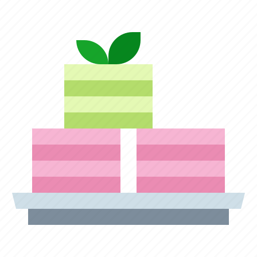 Cake, dessert, layer, thai icon - Download on Iconfinder