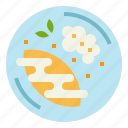 dessert, fruit, mango, sticky, thai