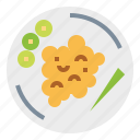 breakfast, food, fried, meal, rice icon