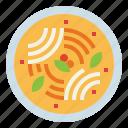curry, food, jeen, khanom, noodles, thai