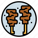food, grill, grilled, pork icon