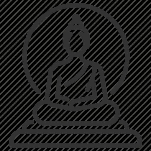 asian, buddha, buddhist, statue, thai, thailand icon