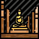 architecture, buddha, cultures, faith, religion, statue, taoism icon