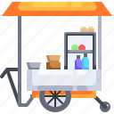asian, food, junk, stall, street, thai, thailand icon