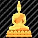 asia, buddha, cultures, statue, thailand icon