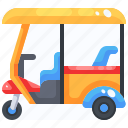 rickshaw, wheeler, thailand, transportation, tourism, tuk, cultures