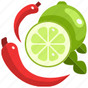 food, lemon, spice, spices, spicy icon