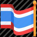country, flag, flags, nation, thai, thailand, world