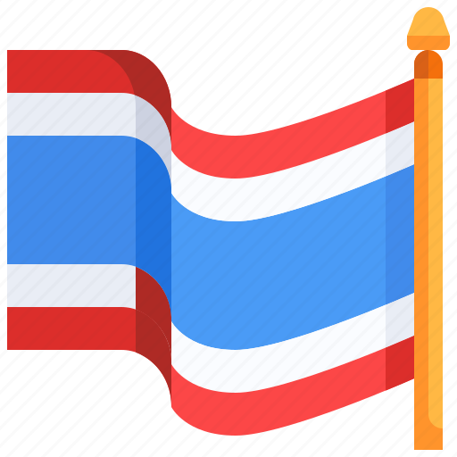 Country, flag, flags, nation, thai, thailand, world icon - Download on Iconfinder