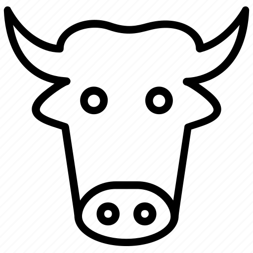 Animal, beef, bull, cow, ox icon - Download on Iconfinder