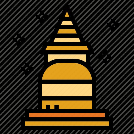 pagoda, religion, temple, thailand icon