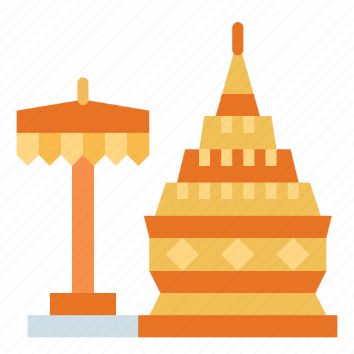 architectonic, doi suthep, landmark, monuments icon