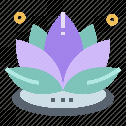 buddha, cultures, flower, lotus icon