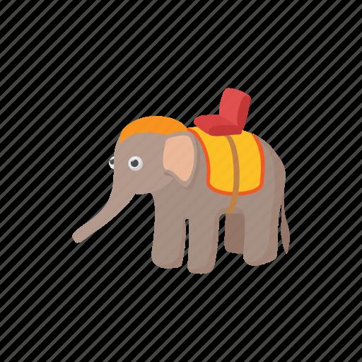 animal, asia, cartoon, elephant, mammal, thailand, wild icon
