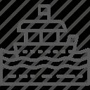 asian, boat, sea, thai, thailand, transportation, water