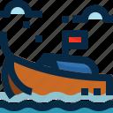 boat, krabi, ocean, phuket, thailand, transportation, travel icon