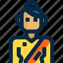 avatar, dress, female, person, thai, thailand, woman icon