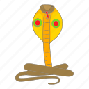 animal, cobra, snake, wild icon