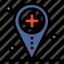 health, hospital, location, map, medical
